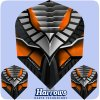harrows avanti dart flights 7403