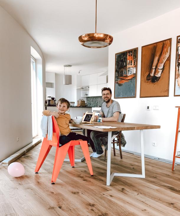 Vybavení nového bytu pro Hejlíkovi