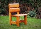 Celodřevěné zahradní židle