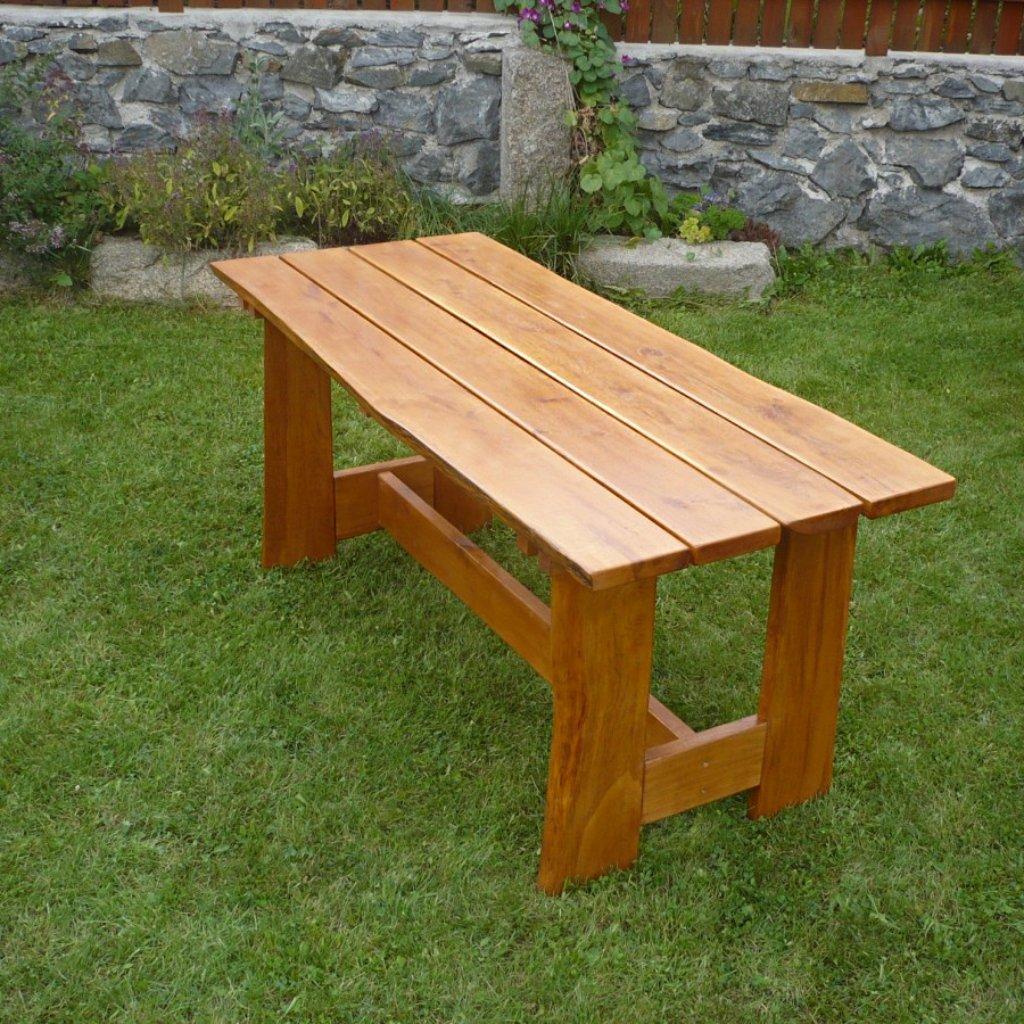 Rustikální stůl dubový