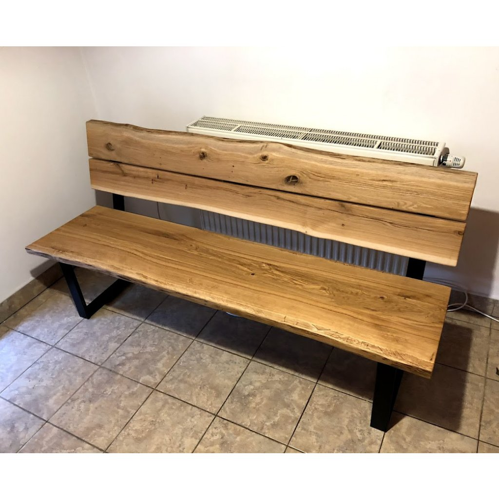 Designová jídelní lavice