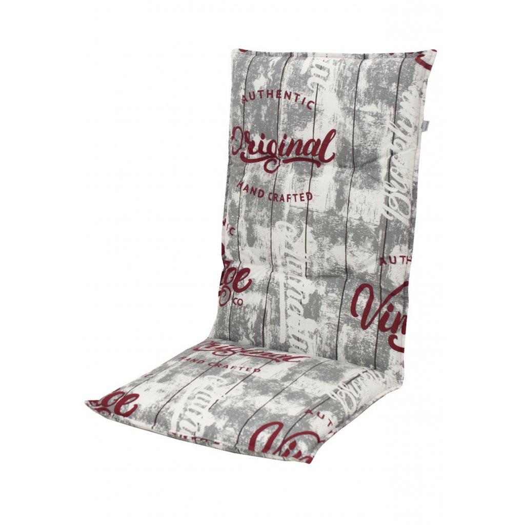 LIVING 2901 vysoký - polstr na židli a křeslo