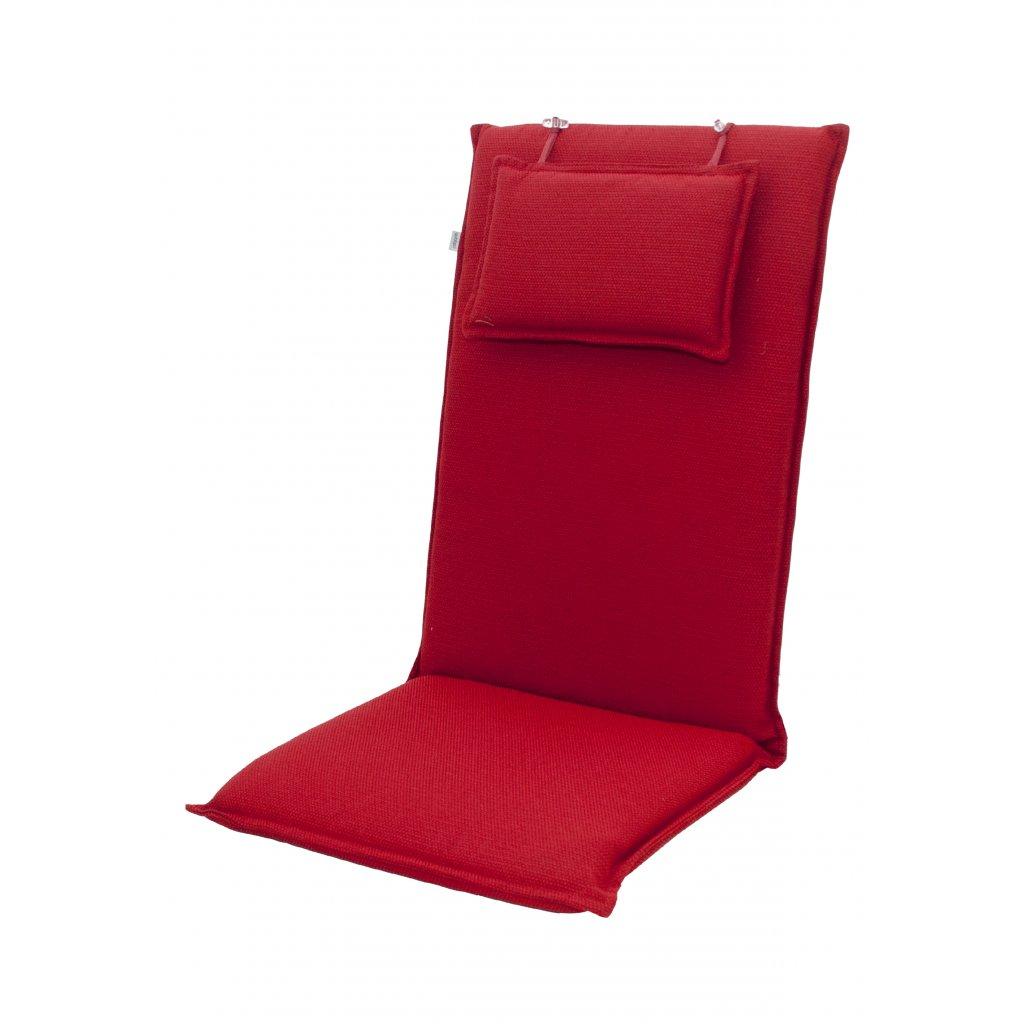 STAR se zipem 7028 vysoký - polstr na židli a křeslo s podhlavníkem