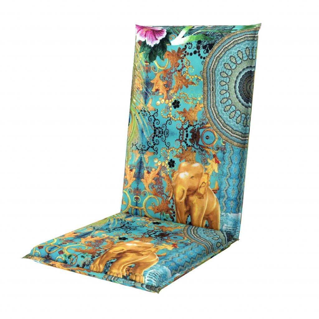 LIVING DE LUXE 5036 vysoký - polstr na židli a křeslo