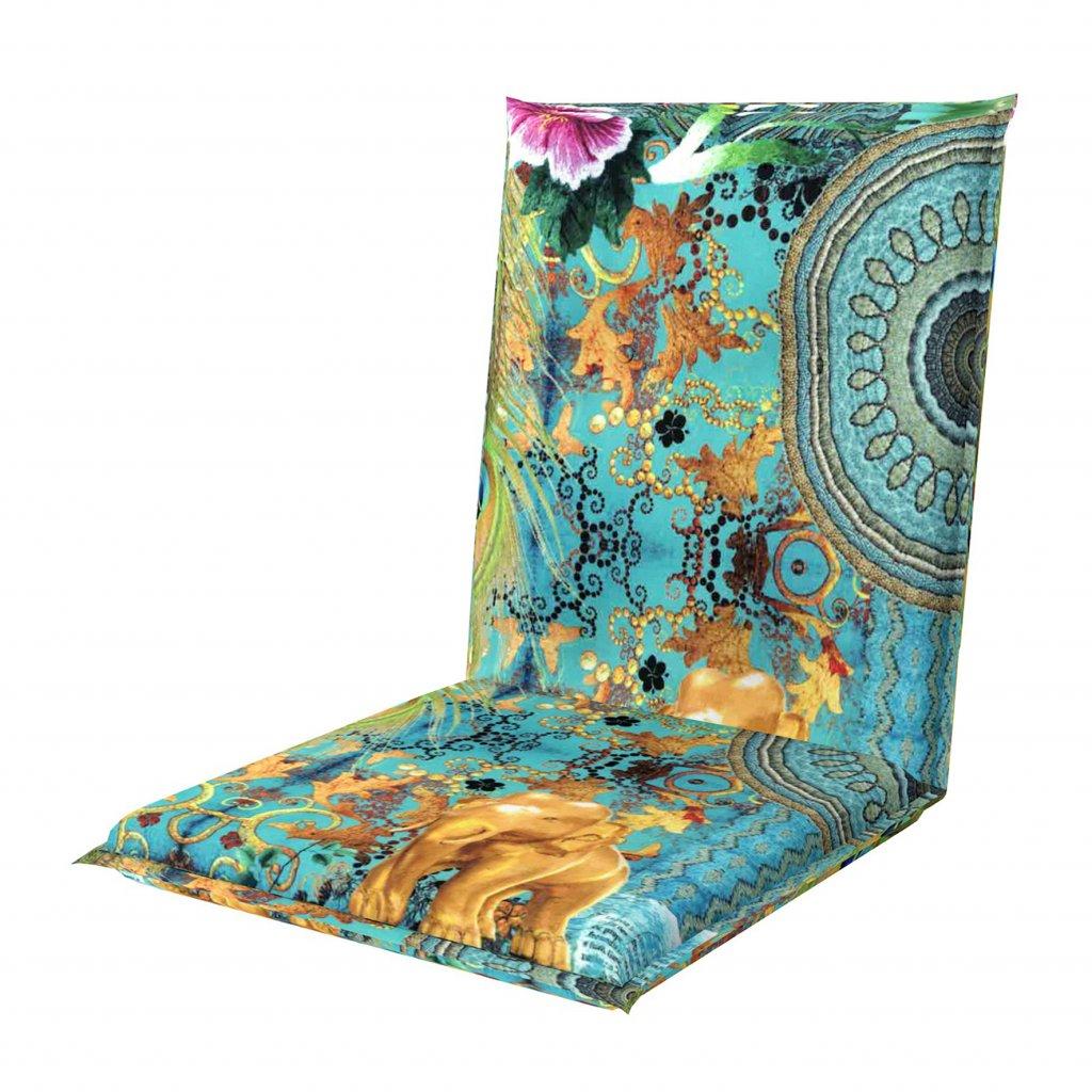 LIVING DE LUXE 5036 nízký - polstr na židli a křeslo