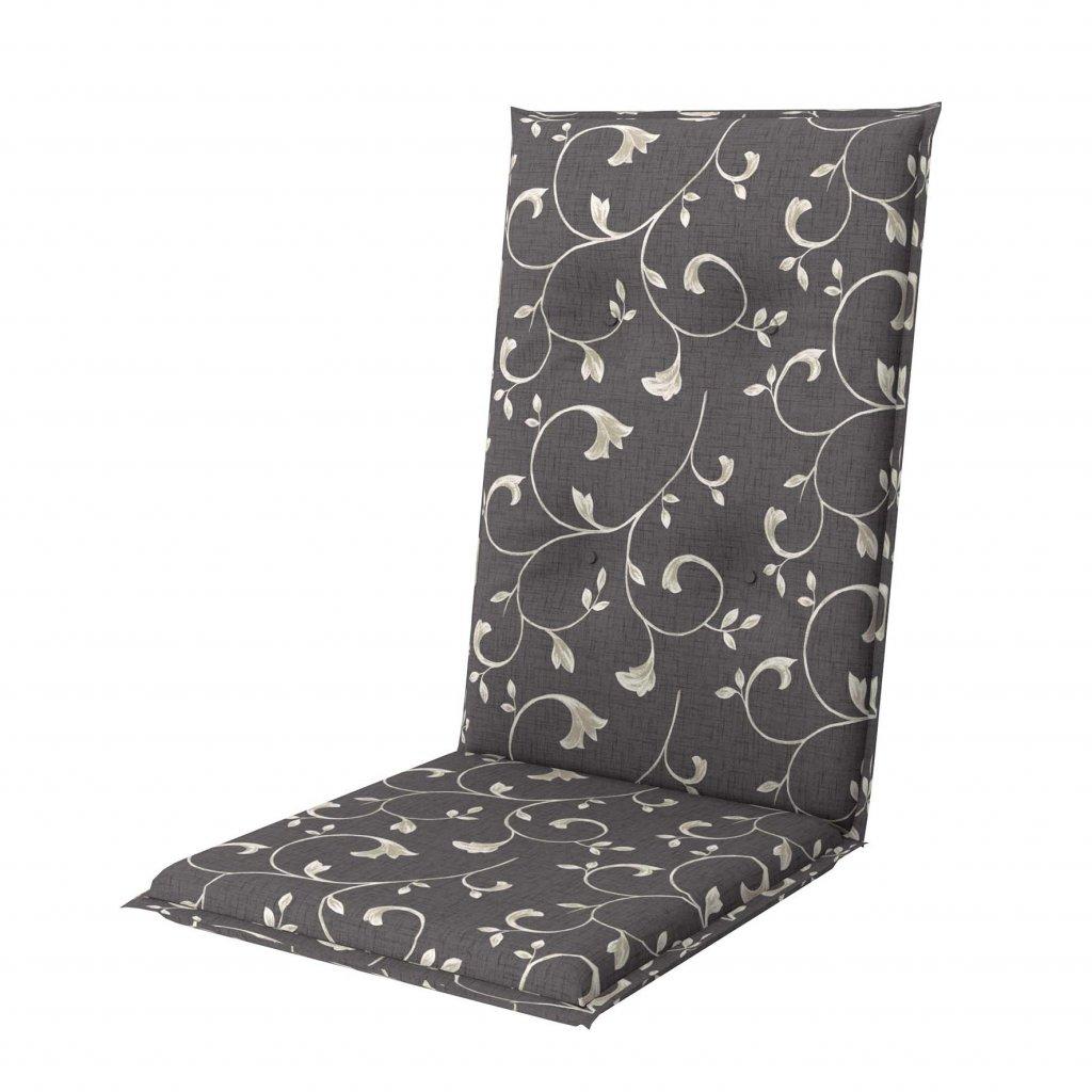 LIVING 2097 vysoký - polstr na židli a křeslo