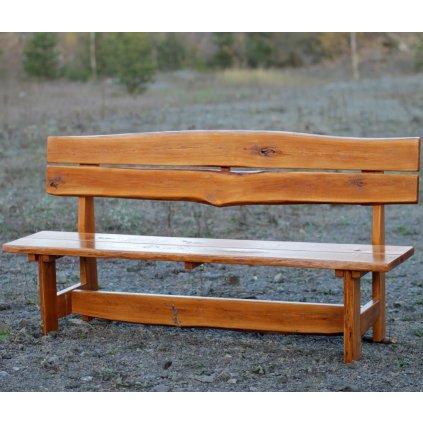 Rustikální lavice