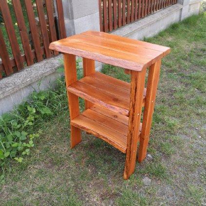 Rustikální odkládací stolek