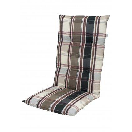 LIVING 9107 vysoký - polstr na židli a křeslo