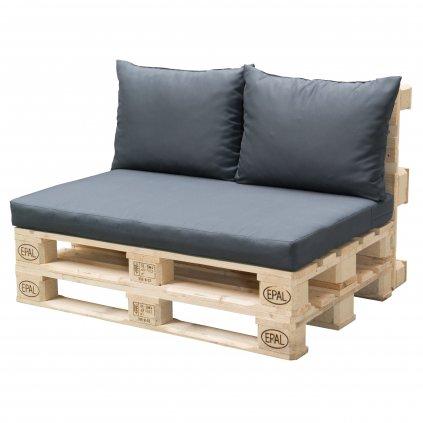 Paletové sezení sedák + 2x polštář