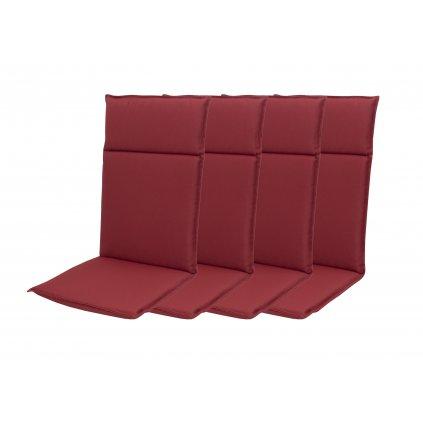 HIT UNI 8833 vysoký - set 4ks – polstr na křesla a židle