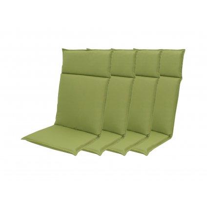 HIT UNI 7836 vysoký - set 4ks – polstr na křesla a židle