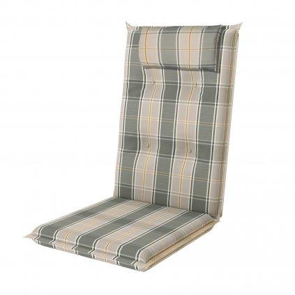 BRILLANT 7101 vysoký - polstr na židli a křeslo