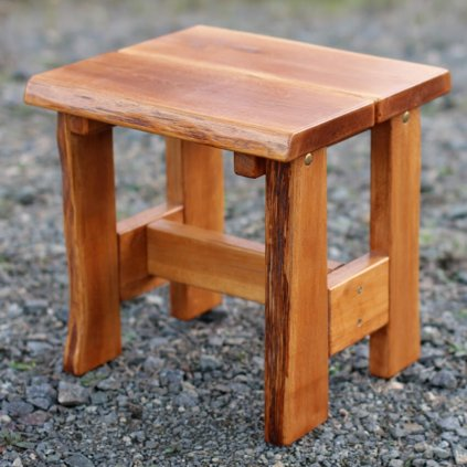 Zahradní dubová stolička