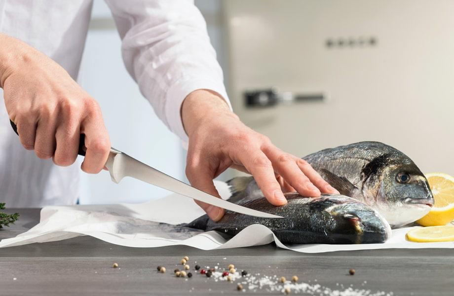 Filetovací a vykosťovací nože