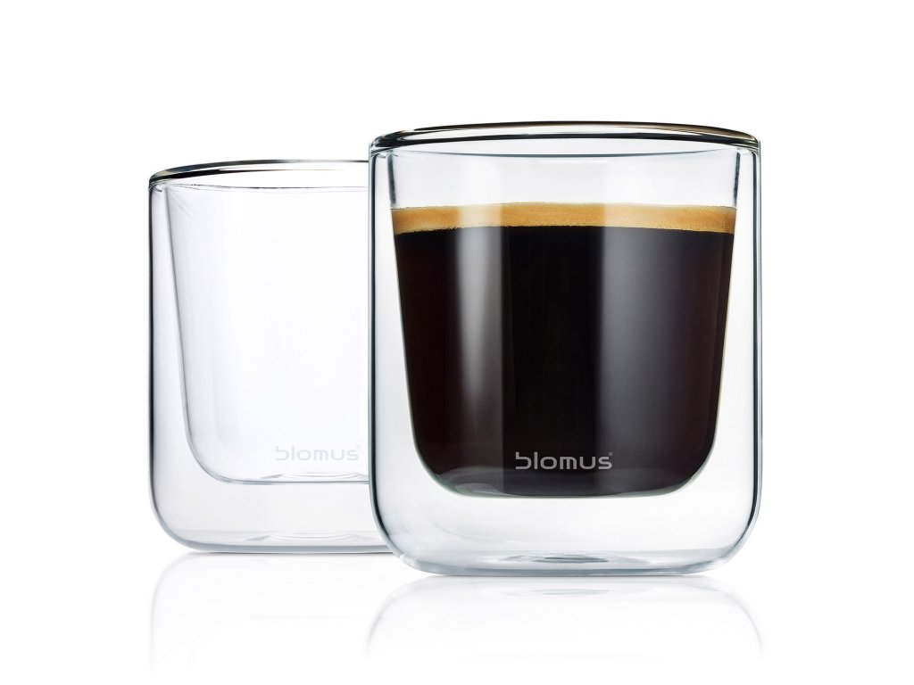 Set termosklenic na kávu NERO 200 ml