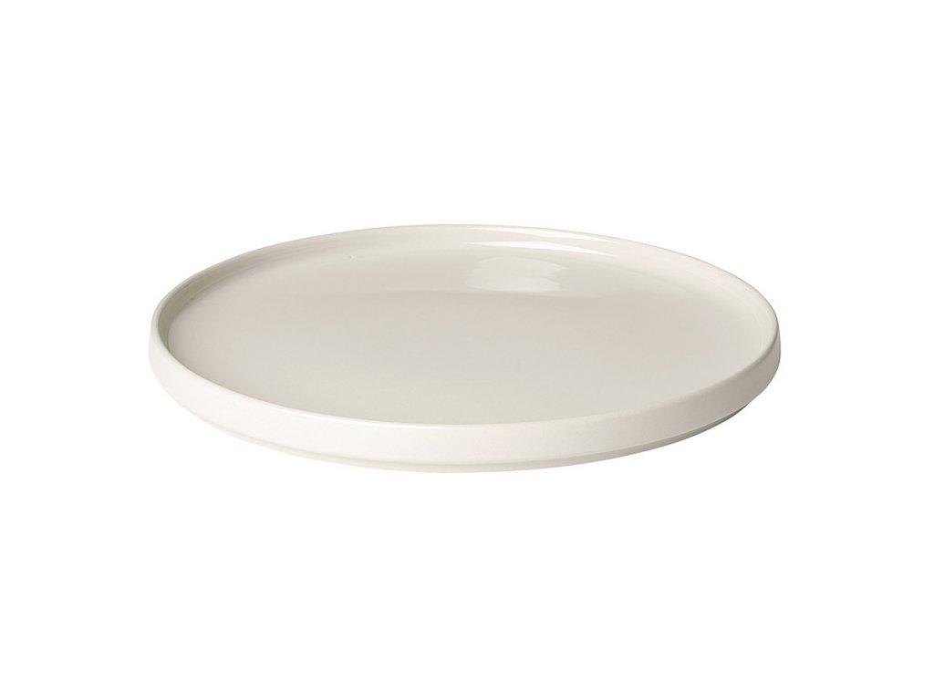 Mělký talíř Mio krémový Blomus