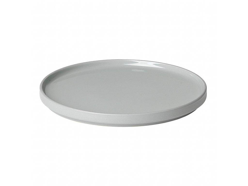 Dezertní talíř Mio světle šedý Blomus