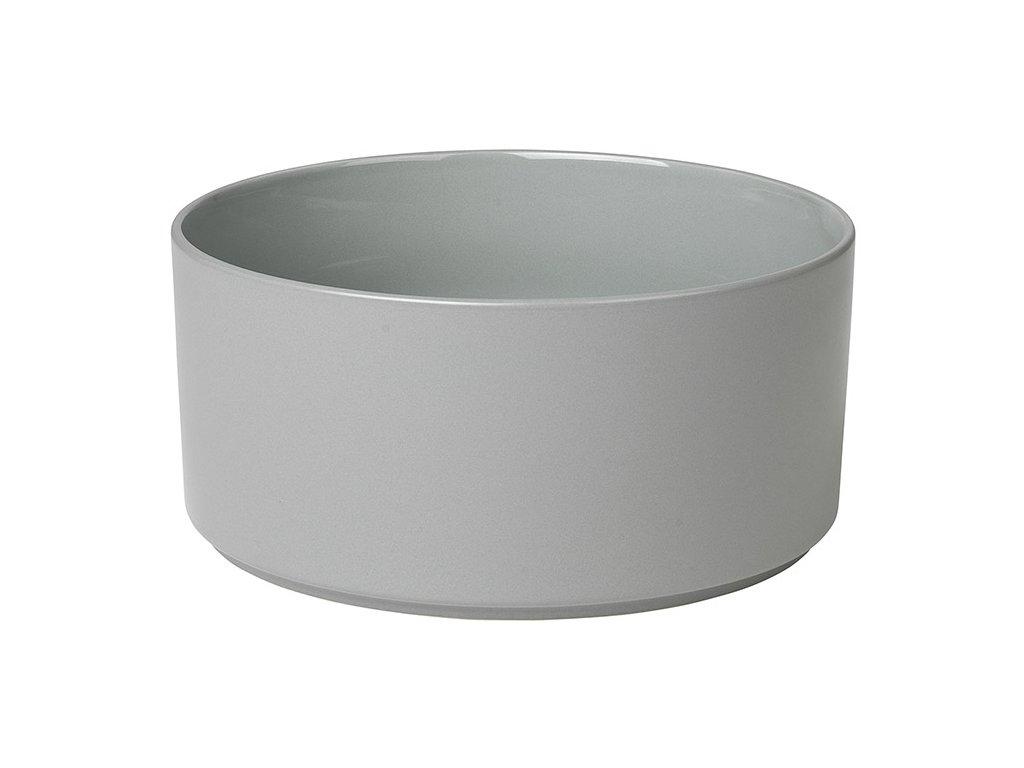Miska Mio světle šedá Ø 20 cm