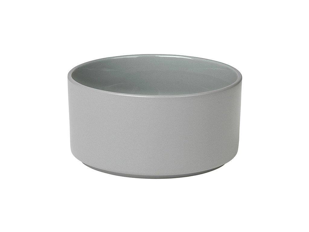 Miska Mio světle šedá Ø 14 cm