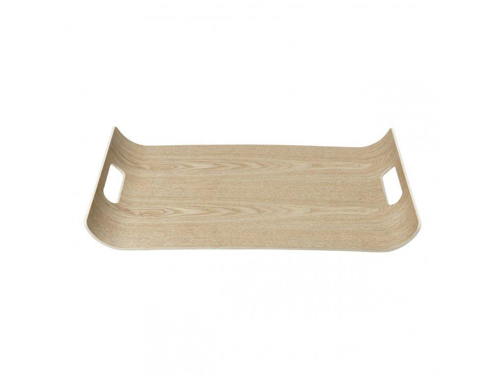 Dřevěný tác s vyvýšenými okraji WILO velký