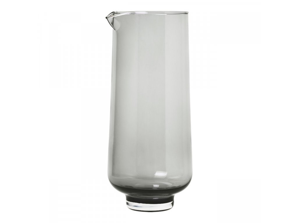 Karafa na vodu FLOW kouřové sklo 1,1 l Blomus
