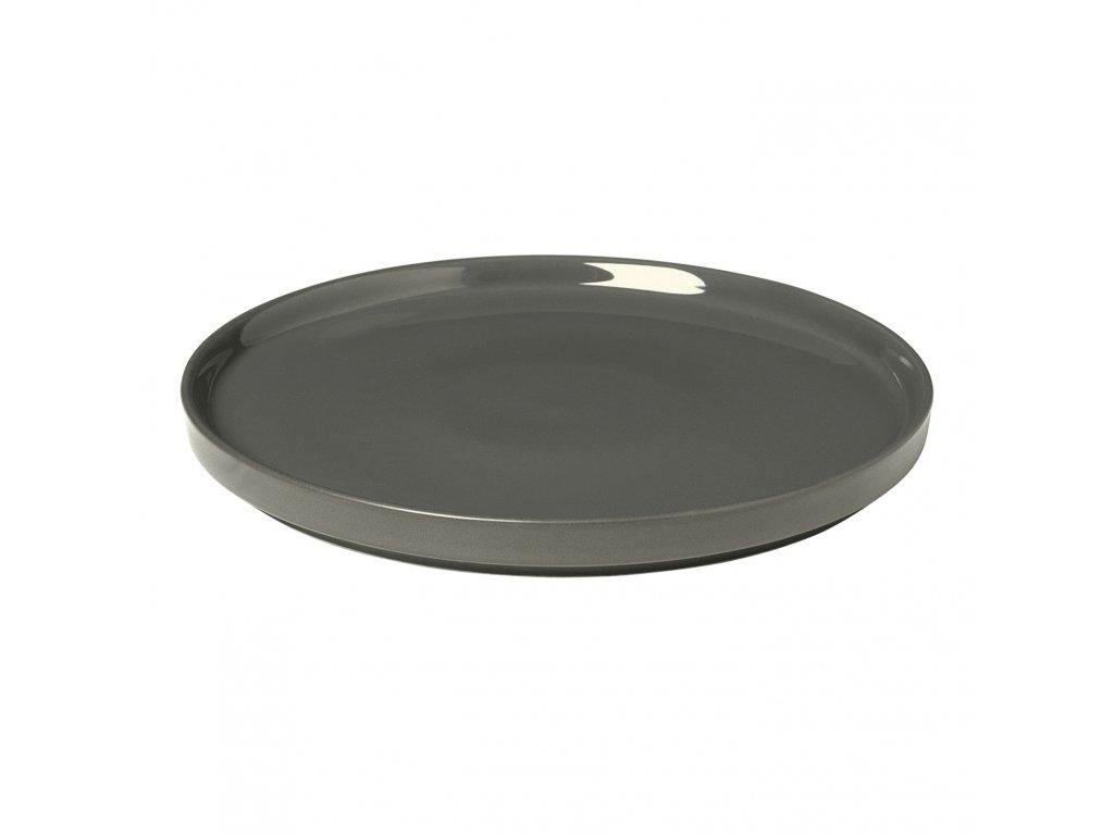 Dezertní talíř Mio cínový