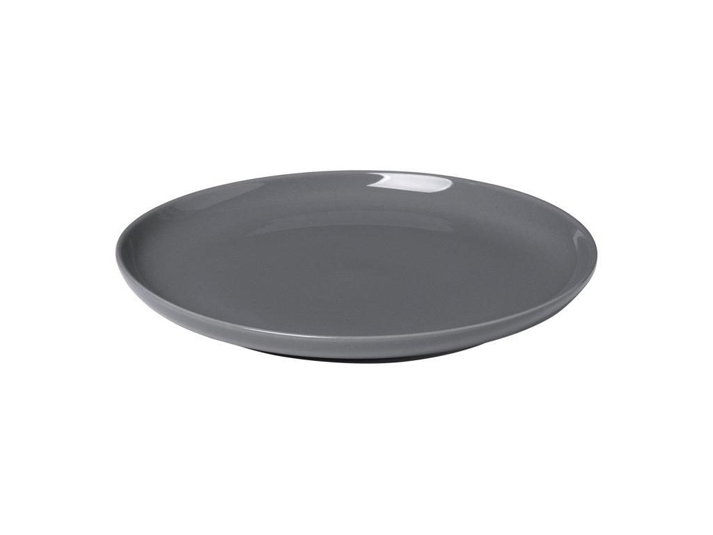 Dezertní talíř RO tmavě šedý