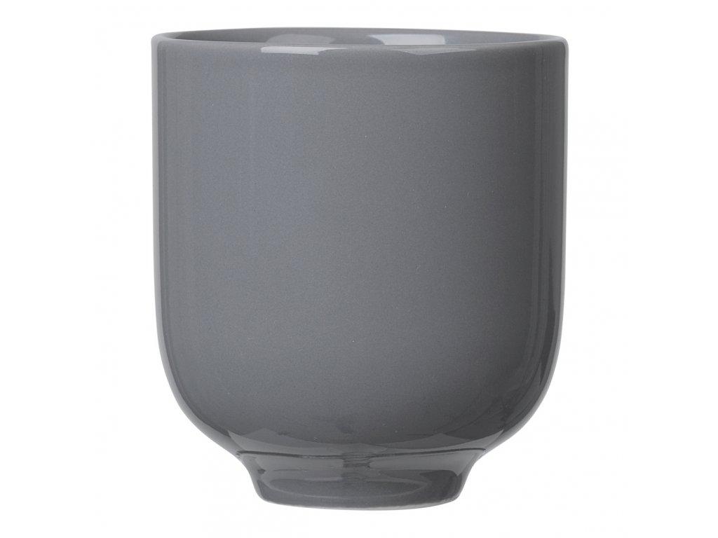Pohárek na čaj RO tmavě šedý