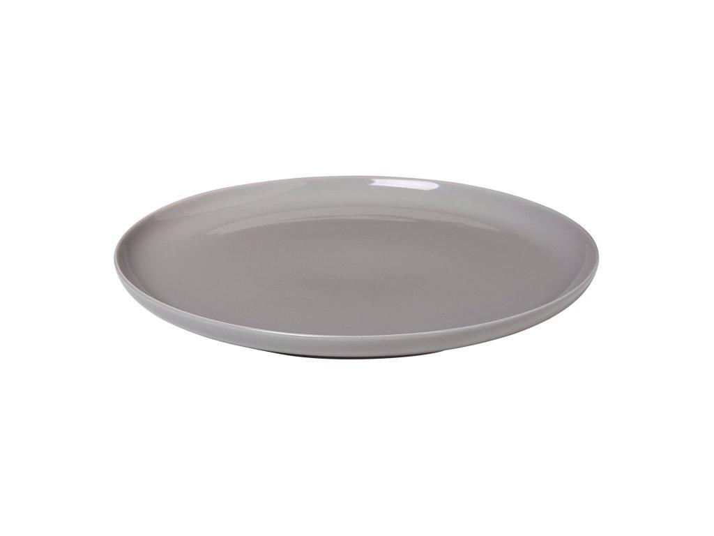 Jídelní talíř RO šedý Blomus