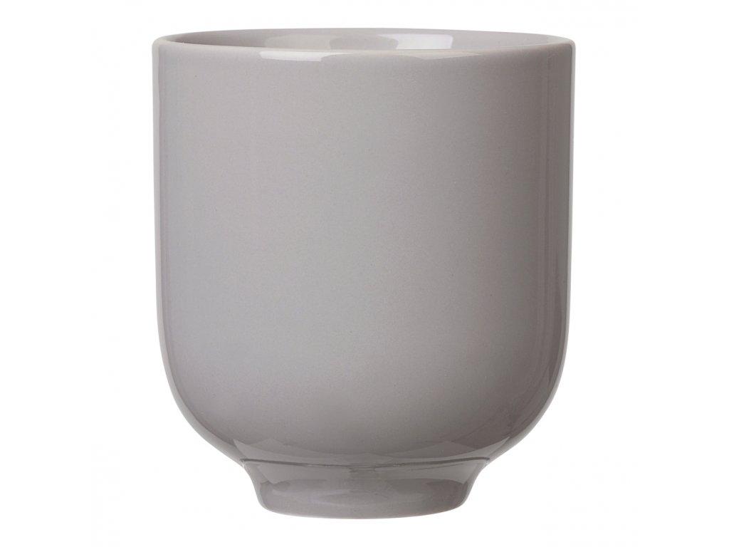 Pohárek na čaj RO šedý