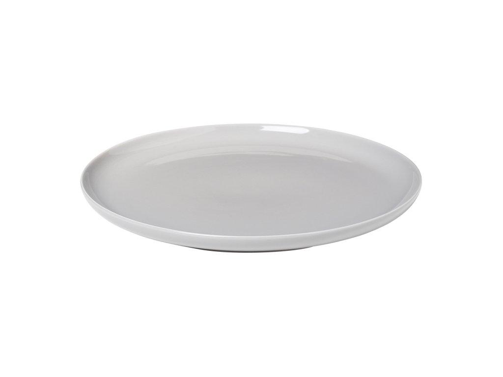 Jídelní talíř RO světle šedý