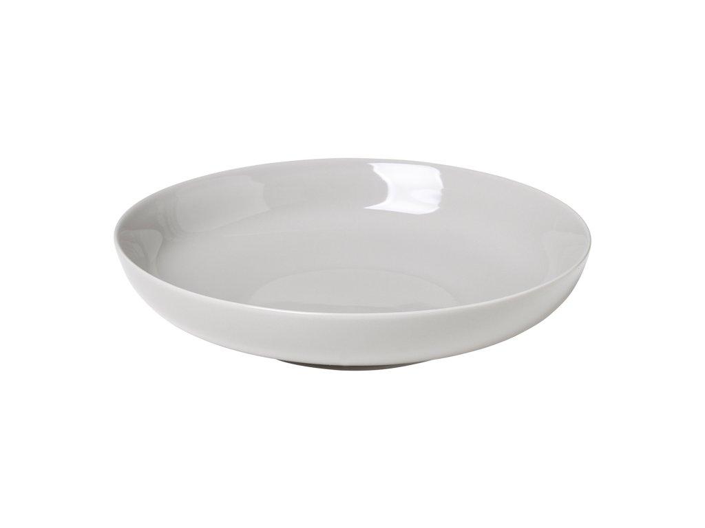 Hluboký talíř RO světle šedý