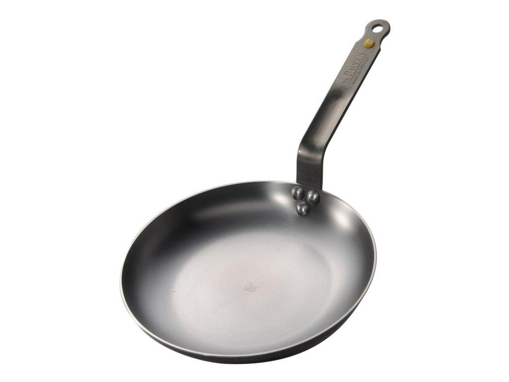 Ocelová pánev na omelety Mineral B Element O 24 cm de Buyer