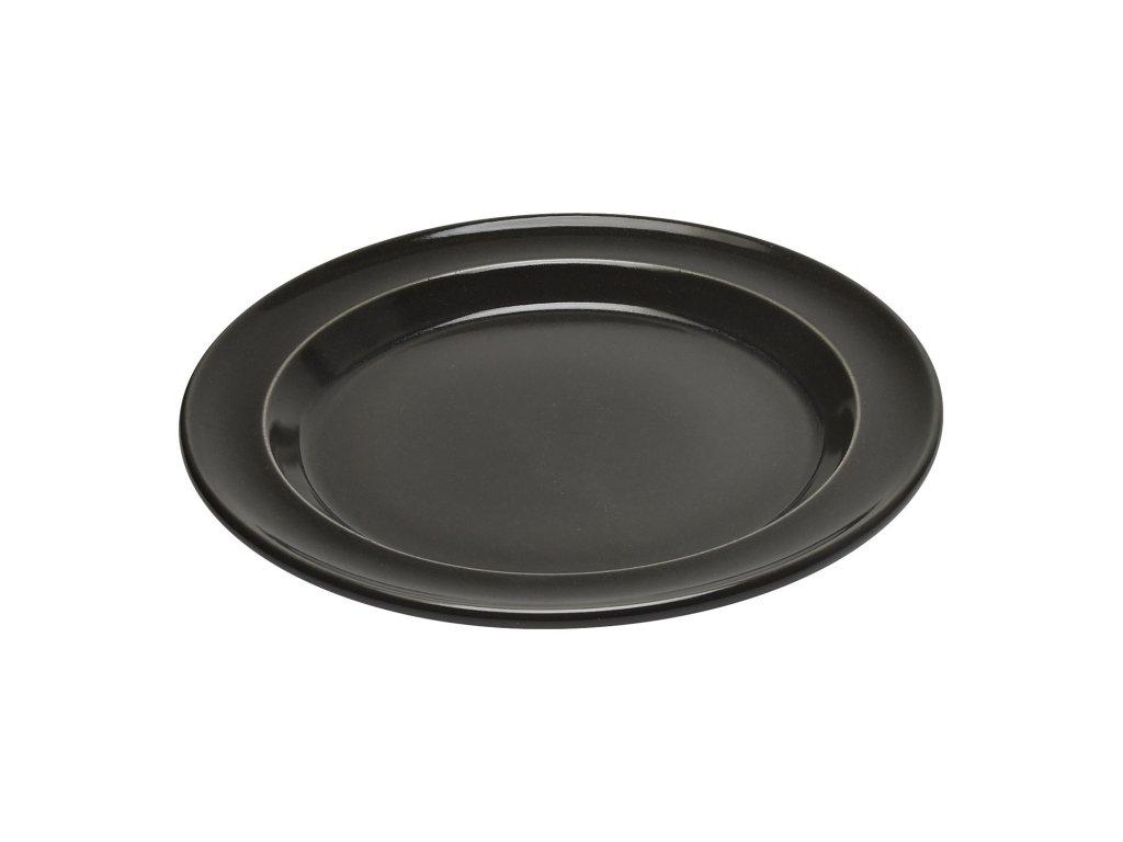 Talíř jídelní antracitová Charcoal