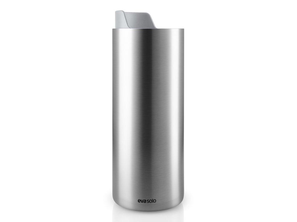 Nerezový termohrnek Urban To Go s mramorově šedým uzávěrem 0,35 l Eva Solo