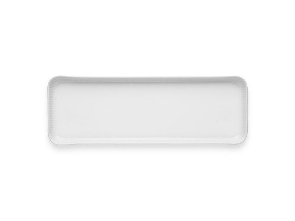 Servírovací talíř Legio Nova bílý 37 x 13 cm
