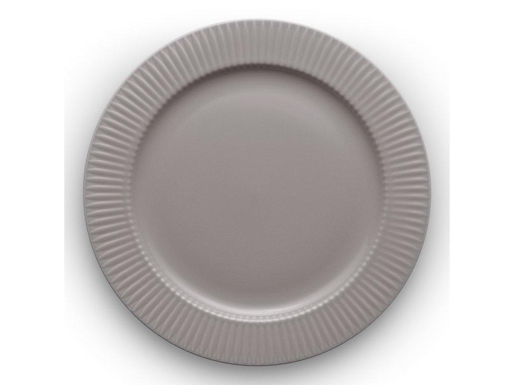Talíř jídelní Legio Nova grey Ø 28 cm