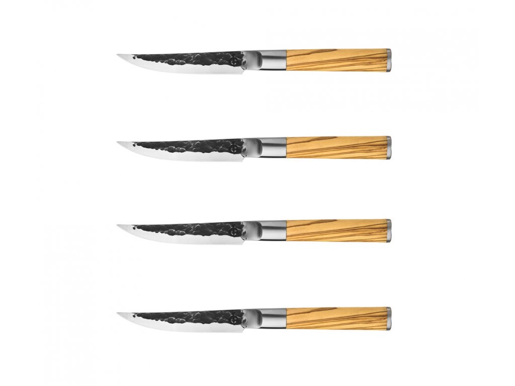 Sada steakových nožů Forged Olive 4 ks