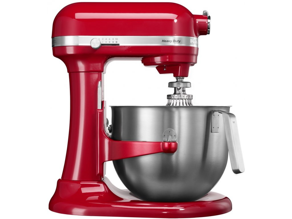 Kuchyňský robot Heavy Duty s mísou 6,9 l královská červená