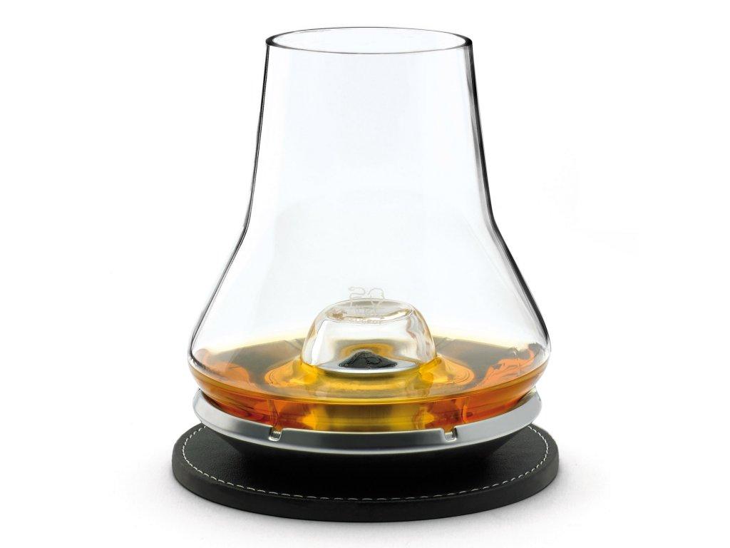 Set na degustaci lihovin s chladícím podstavcem N° 5 Whisky