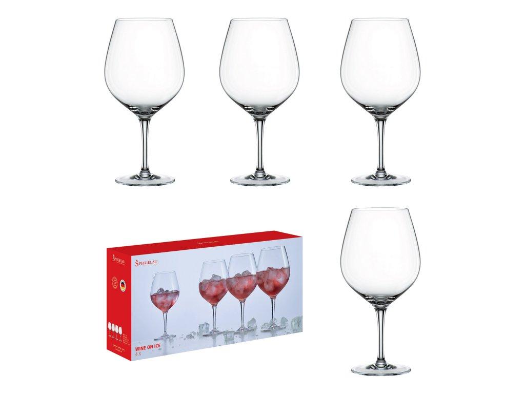 Akční set 4 sklenic na víno Wine On Ice Spiegelau