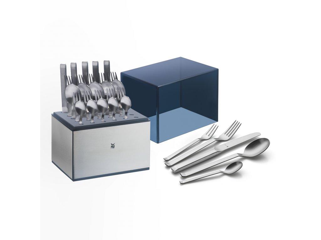 Příbor Iconic Cromargan protect®: set 30 kusů s úložným boxem WMF