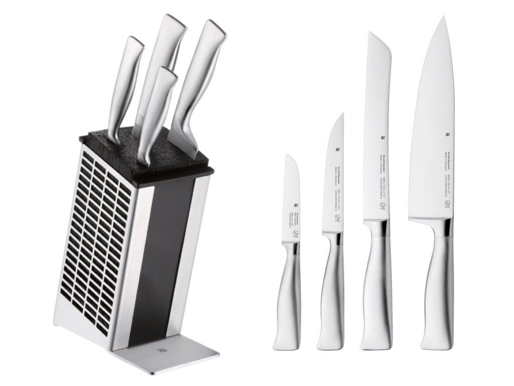 Sada nožů s blokem Grand Gourmet 5dílná PC
