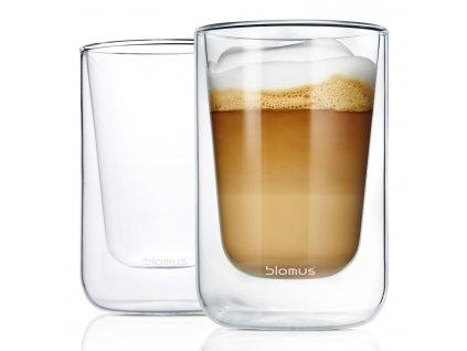 Set termosklenic na cappuccino 250 ml NERO Blomus