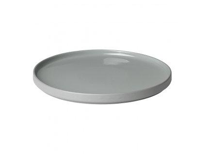 Mělký talíř Mio světle šedý
