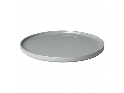 Servírovací talíř Mio světle šedá
