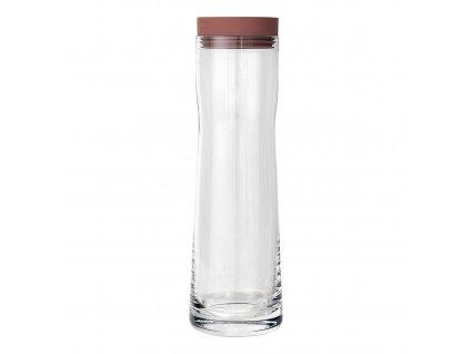 Karafa na vodu cihlová SPLASH 1 l