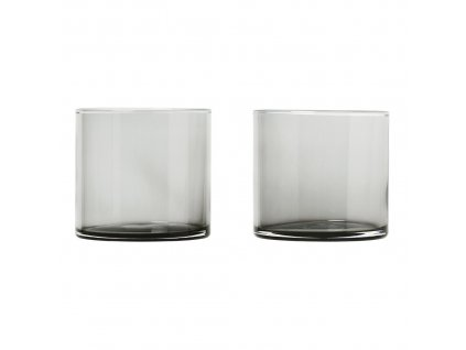 Set 2 skleniček MERA kouřové sklo 0,2 l Blomus