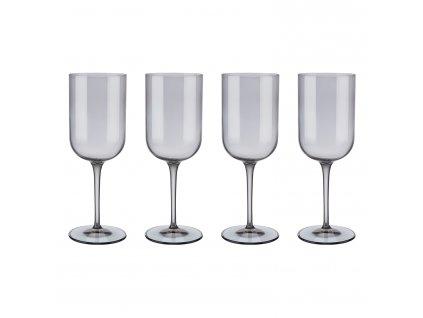Set 4 sklenic na červené víno FUUM kouřové sklo Blomus